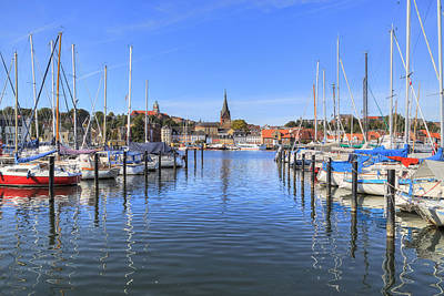 Flensburg - Germany Print by Joana Kruse