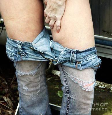 Beauty Photograph - Flesh Jeans by Jacob Smith
