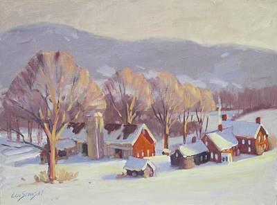 Fletcher Farm 2 Original by Len Stomski