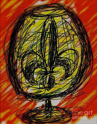Fleur De Cocktail Print by John Giardina