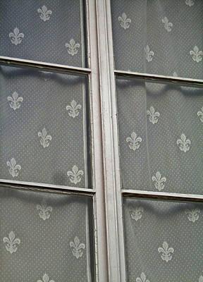 Fenster Photograph - Fleur-de-lis by Juergen Weiss