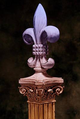 Purity Photograph - Fleur De Lis V by Tom Mc Nemar