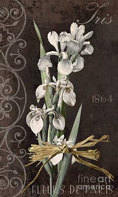 White Beard Painting - Fleurs De Paris II by Mindy Sommers