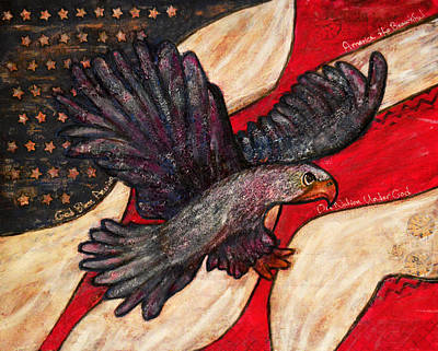 Flight And Flag Original by RR Gallery