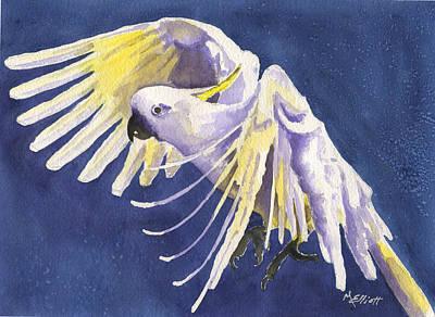 Cockatoo Painting - Flight Of Fancy by Marsha Elliott