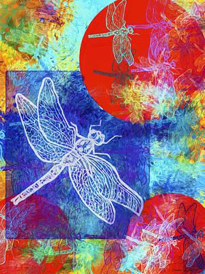 Flight Taking Form Print by Jo-Anne Gazo-McKim