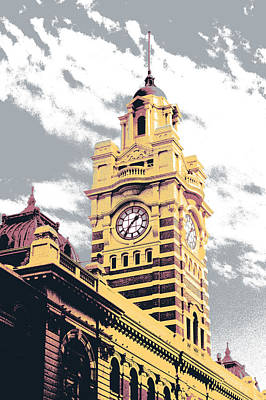 Flinders Street Station Print by Shay Culligan