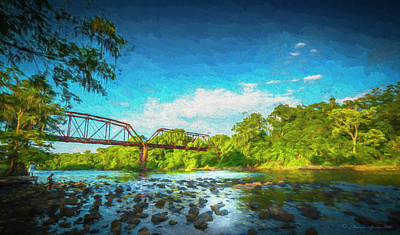 Flint River Print by Marvin Spates