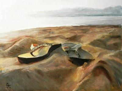 Painting - Flipflop by George Kramer