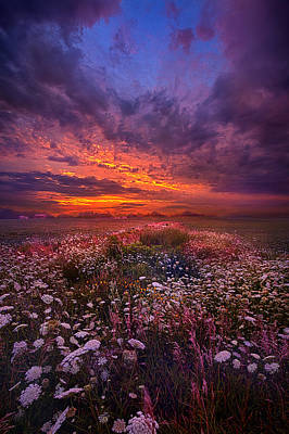 Hope Photograph - Floating Along The Edge Of Dawn by Phil Koch