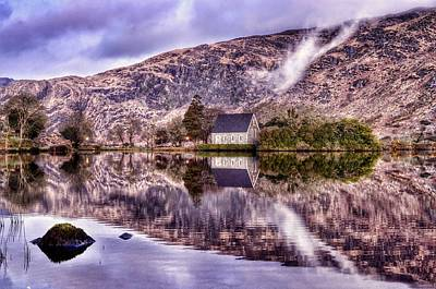 Gougane Barra Photograph - Floating Mirror by Joe Ormonde