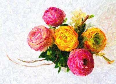 Floral Print by Artistic Panda