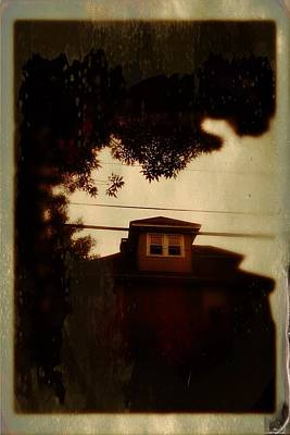 Old House Photograph - Floral Park by H James Hoff