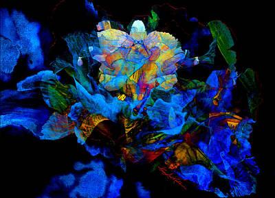 Floral Phantom Print by Hanne Lore Koehler