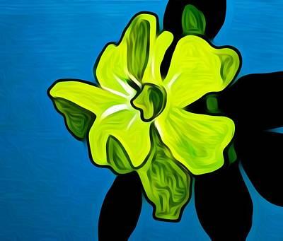 Floral Repose Original by Paulo Guimaraes