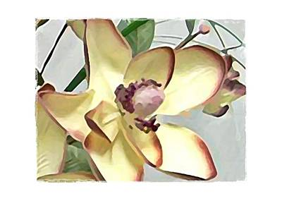 Floral Series IIi Print by Terry Mulligan