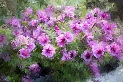 Floral Study 053010 Print by David Lane