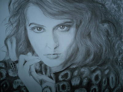 Florence Welch, Florence And The Machine Print by Adrienne Martino