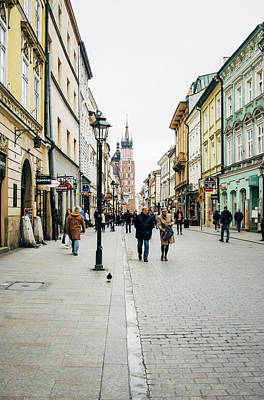 Cracow Photograph - Florianska Krakow by Pati Photography