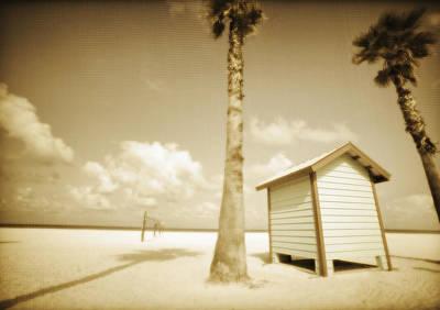 Florida Beach Print by Skip Nall