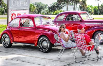 Florida Fun In The Sun Print by Carol R Montoya
