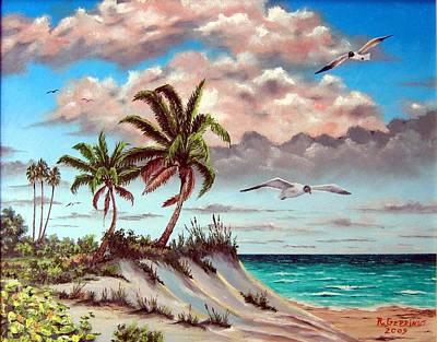 Florida Gulf Dune Print by Riley Geddings