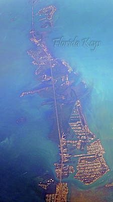 Maps Photograph - Florida Keys by Betsy Knapp