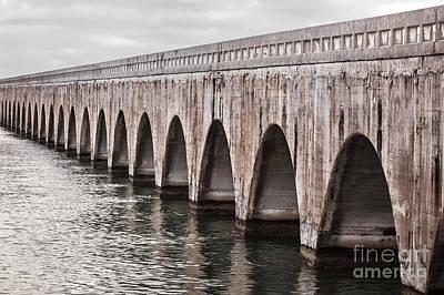 Roads Photograph - Florida Keys East Coast Railway by Elena Elisseeva
