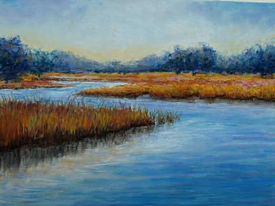 Landscape Painting - Florida Marsh by Susan Jenkins