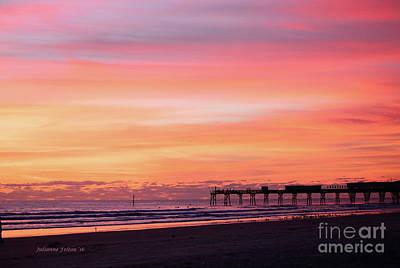Painting - Florida Sunrise 1 10-25-16  by Julianne Felton