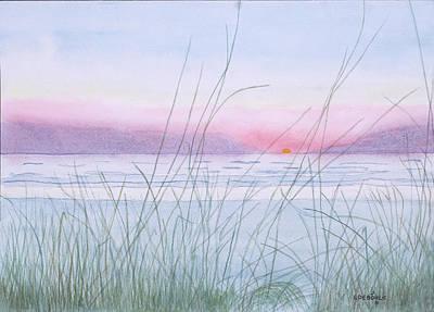 Ptints Painting - Florida Sunset by John Edebohls