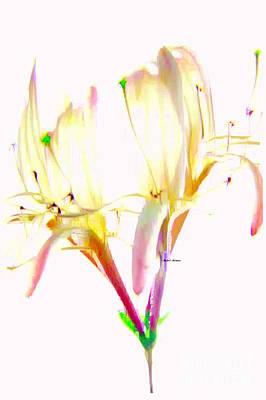 Art To Wear Digital Art - Flower 9315 by Rafael Salazar