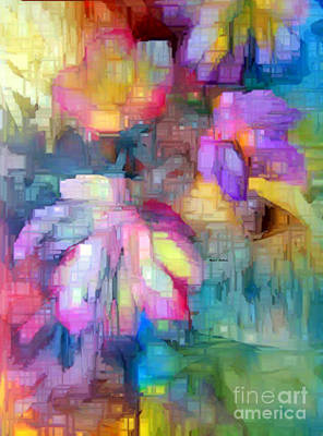 Art To Wear Digital Art - Flower 9350 by Rafael Salazar