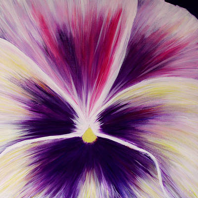 Painting - Flower Abstract by K McCoy