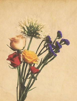 Rose Photograph - Flower Bouquet by Garvin Hunter