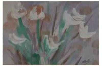 Painting - Flower Garden by B L Qualls