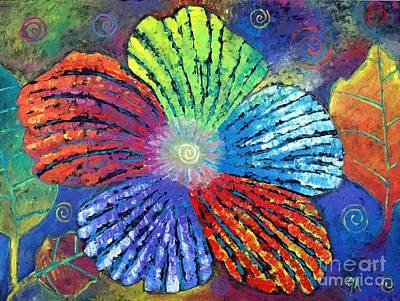 Flower Of A System Print by Jeremy Aiyadurai
