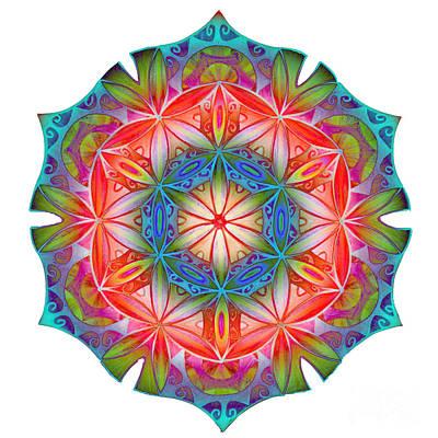 Flower Of Life 4 Original by Cveta Dinkova