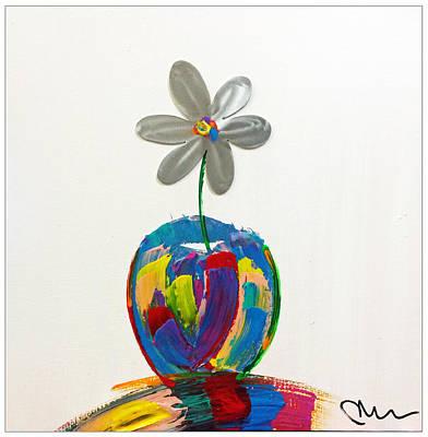 Painting - Flower Power by Mac Worthington