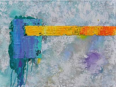 Flowerfield Painting - Flowerfields II by Eduard Meinema