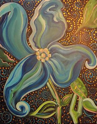 Painting - Flowering Dogwood by John Keaton