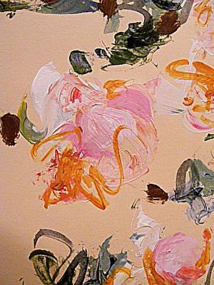 Matte Painting - Flowering by Nancy Kane Chapman