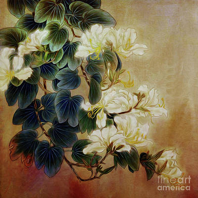 Usa Painting - Flowers 08401 by Gull G