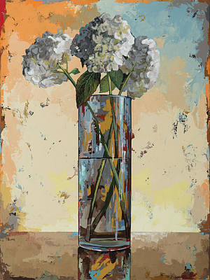 Hydrangea Painting - Flowers #16 by David Palmer