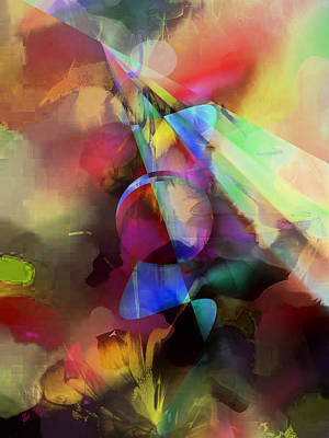 Digital Art - Flowers by Contemporary Art