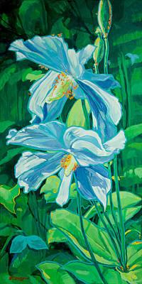 Flowers Original by Derrick Higgins