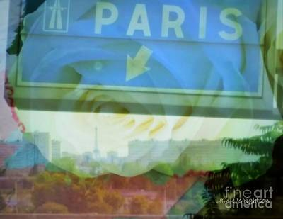 Flowers For Paris Print by Lainie Wrightson