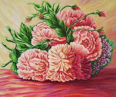 Spirit Catcher Painting - Flowers For You by Katreen Queen