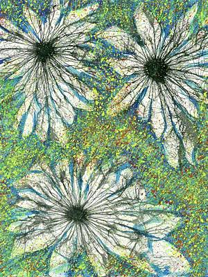 Fireworks Painting - Flowers From The Seeds Of Love #187 by Rainbow Artist Orlando L aka Kevin Orlando Lau