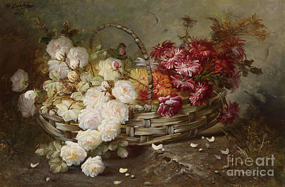 Flowers Print by Max Carlier